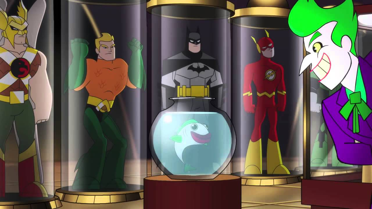 Dc Super Friends Imaginext 8-15 - Youtube-1134