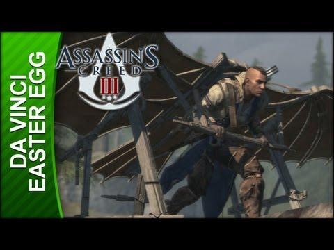 Assassin's Creed 3 - Leonardo Da Vinci Easter Egg - YouTube