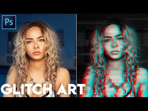 Photoshop Tutorial: How to Create Glitch Art Effect thumbnail