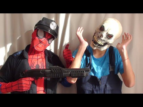 spiderman-real-life-fight-prison-break-superhero-fun-toys-ltt-films-pdk-films-nick-pro-spajdermen