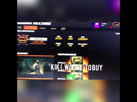 Bo3 account for sale Xbox one
