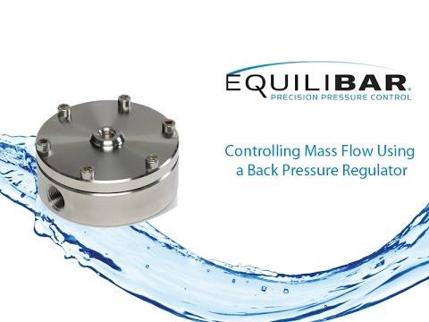 Controlling Mass Flow Using a Back Pressure Regulator