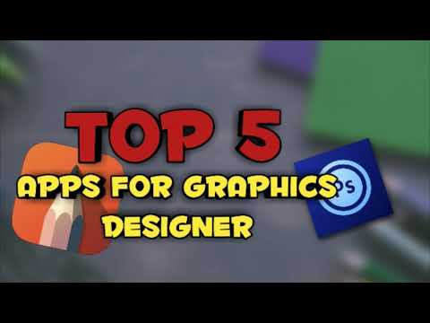 TOP 5 ANDROID APPS FOR GRAPHIC DESIGN  2019