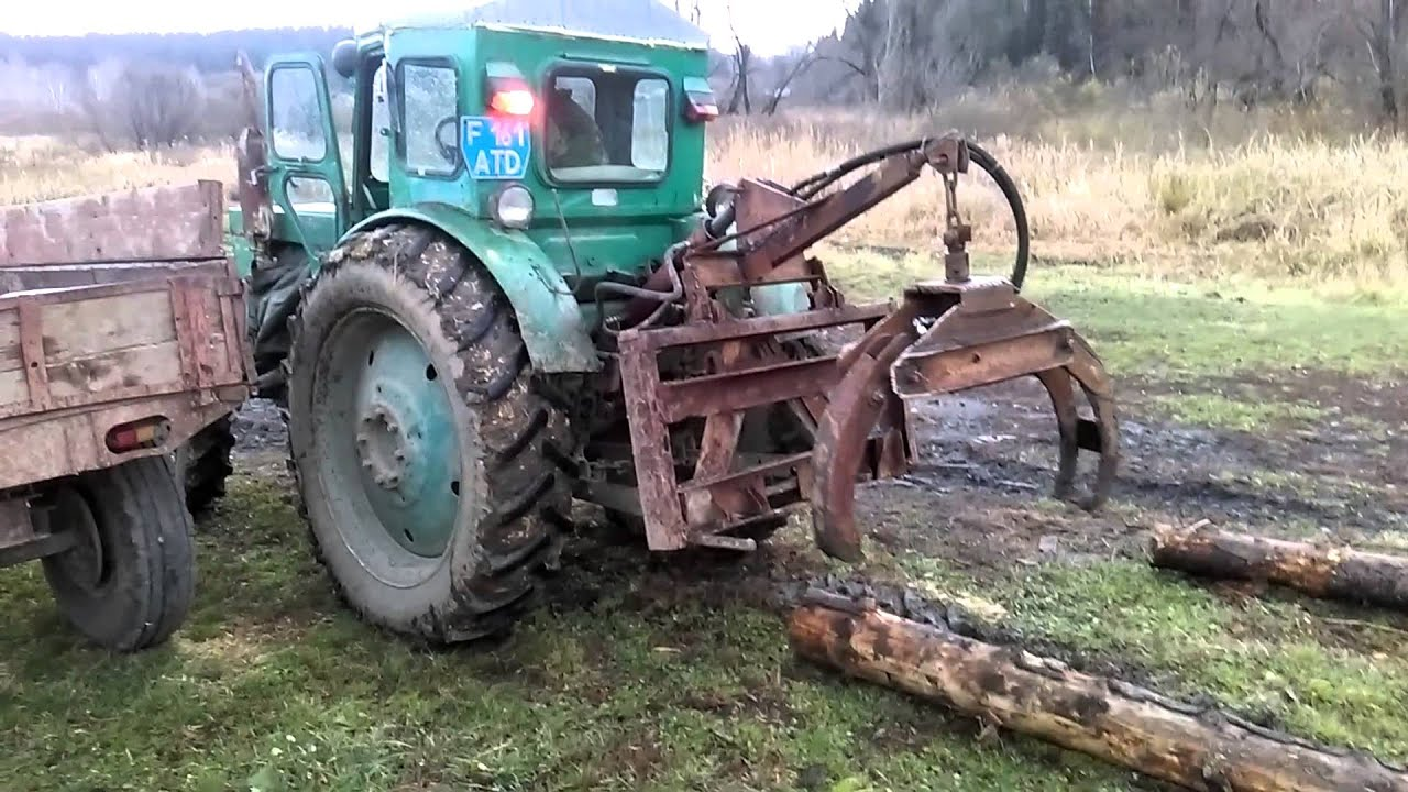 Гидрозахват для трелевки леса своими руками