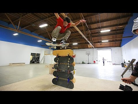 Thumbnail: THE BRAILLE HOUSE HIGH OLLIE CHALLENGE!