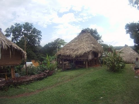 A Visit to Embera Indian Village of Panama