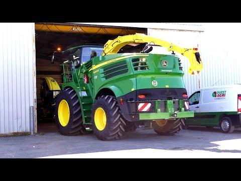 NEW John Deere 8400i en préparation pour l'ensilage 2017 ! *Ouest Agri Charente*