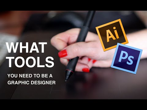 What Tools You Need To Become a Graphic Designer