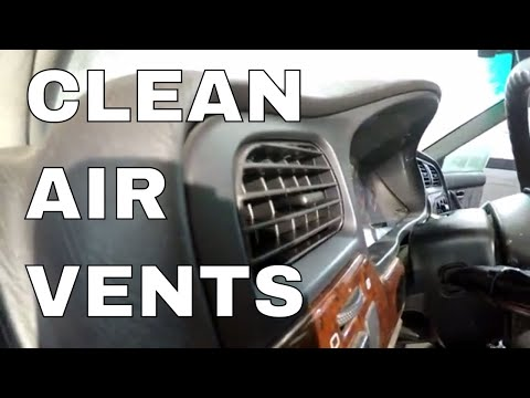 How to Clean Car AC & Heat Vents