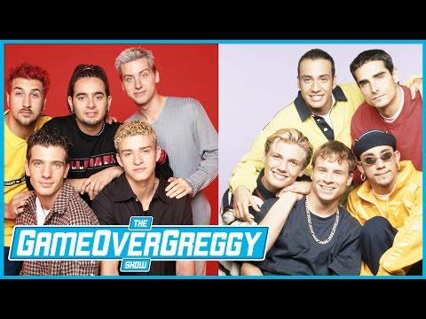 Backstreet Boys vs. N'SYNC- The GameOverGreggy Show Ep. 176 (Pt. 1)