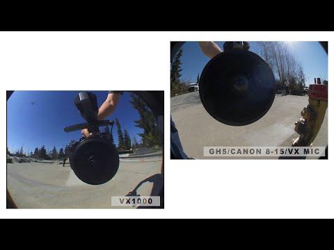 Wooden Camera VX Mic vs VX1000