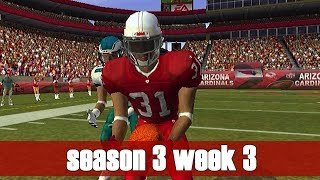 THE BEST OF THE BEST - MADDEN 2004 CARDINALS FRANCHISE VS EAGLES (S3W3)