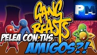 TODO RISAS EN ESTE JUEGO!! GANG BEASTS. PleyMoar