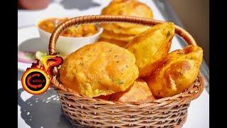 Aloo Poori- Kids Special    Potato Poori   How to make perfect Masala Aloo Puri   Ep:319