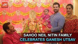 Neil Nitin Mukesh & Rukmini Sahay's Baby Girl NURVI Celebrates First Ganesh Chathurthi   YOYOTIMES