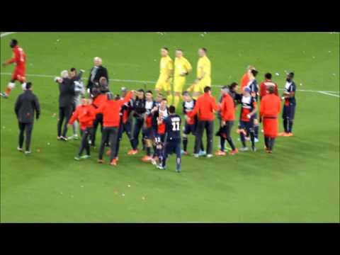 Beckham Lifted By PSG! - (Allez Paris Saint Germain)