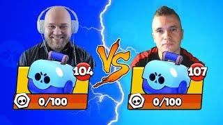 БИТВА СУНДУКОВ BRAWL STARS! SHAMPANOV vs AuRuM TV