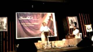 Taufiq Quereshi performs at the Bandish concert  2011.mp4