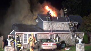 Inbrook Rd Dwelling Fire 9/22/14 Levittown, PA.