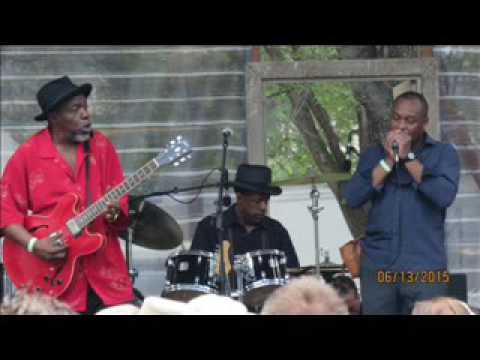 Lurrie Bell - Chicago Blues Festival, Pepsi Front Porch Stage. 2015