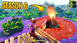 Loot Lake Event (Volcano) 🌋 SEASON 6 Stage 1 Starts! | Fortnite Lama Skin!
