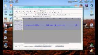 ВидеоУрок Audacity: удаление шума с трека