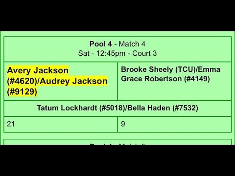 Audrey Jackson 2025 * Avery Jackson 2024