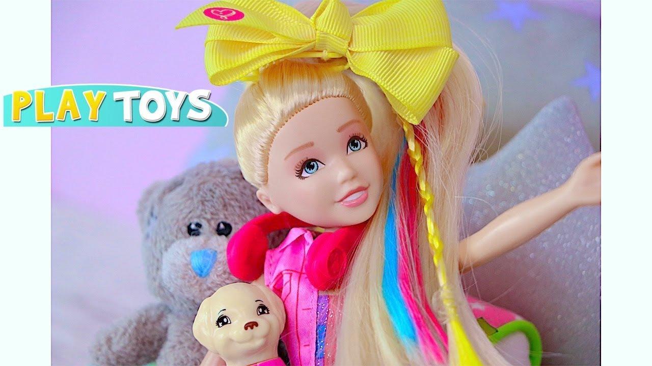 Jojo Siwa Doll Morning Routine Play Baby Doll Wardrobe Dress Up