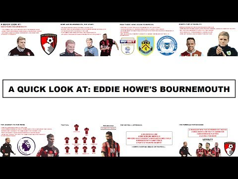 A Quick Look At: Eddie Howe's Bournemouth