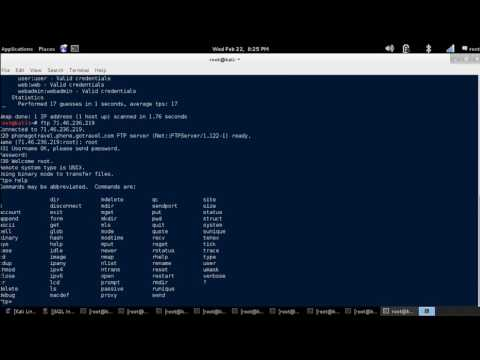 Linux Tutorial - FTP Client Utility [Kali Linux] - YouTube