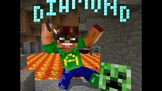 Diamond (Minecraft parody of Baby - Justin Bieber)
