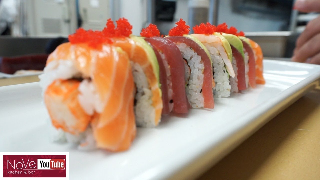 Rainbow Roll How To Make Sushi Series Youtube