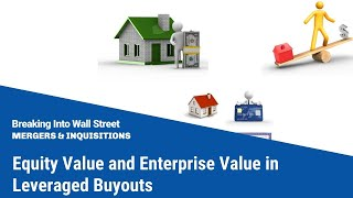 Equity Value and Enterprise Value in Leveraged Buyouts
