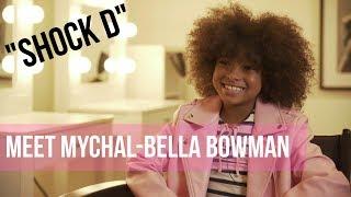 Meet Mychal-Bella Bowman - The Actress Behind SHOCK D | STAR KIDS