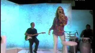 Claudia Leitte no Bem Amigos Sportv Locomotion Batucada