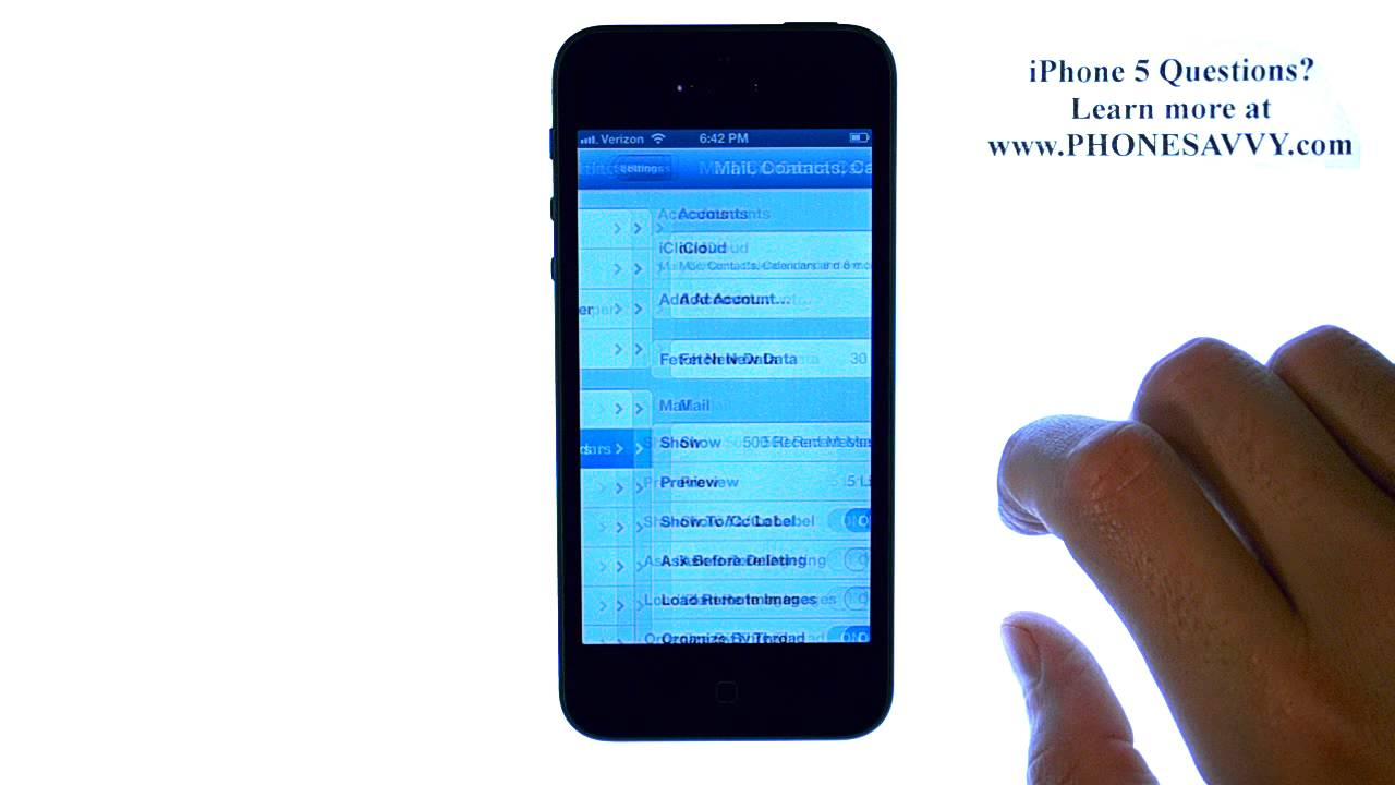 Apple iPhone 5 - iOS 6 - Enable Time Zone Support For Calendar Events