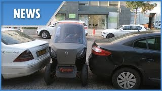 New Small Car Can Shrink Itself To The Size Of A Motorbike