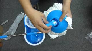 Autolizer 360° Spinning Mop Unboxing and Install Instruction