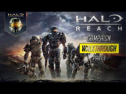 Halo Reach Master Chief Collection PC Walkthrough Part 1 3440x1440