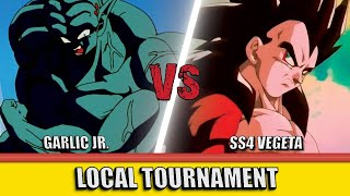 Garlic Jr Y Vs Ss4 Vegeta U Dbs Duel Youtube I like the idea, but not what it the garlic jr. youtube