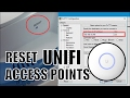 How to reset Unifi Access Points to factory default | English version 2017
