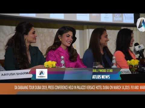 salman khan (complete video)  DABAANG tour Dubai press conference 14/3/2019 by atlus news,