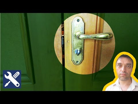 ✅ Как отремонтировать замок межкомнатной двери / Мелкий ремонт