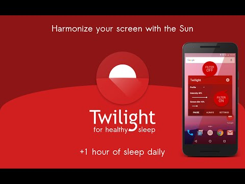 Twilight: Blue light filter – Apps on Google Play