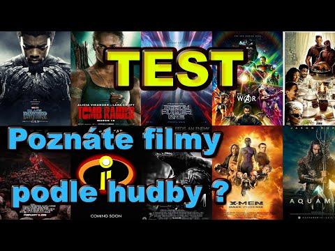 TEST - POZNÁTE FILMY PODLE HUDBY ???