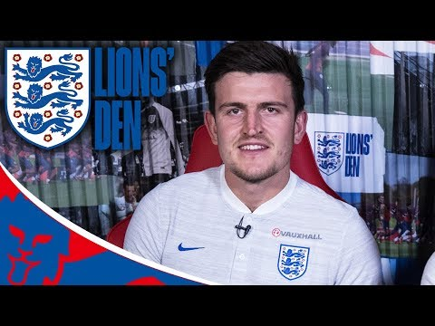 Harry Maguire on Going from Fan to World Cup Star! | Lions' Den Episode Nineteen | World Cup 2018