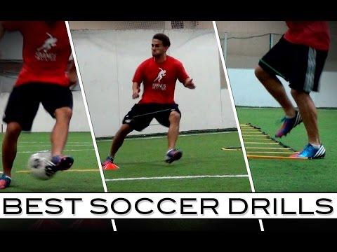 Best Soccer Drills  Ball Skills and Speed Training
