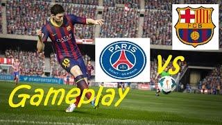 Fifa 15   PSG - BARCELLONA   [GAMEPLAY ITA] #1