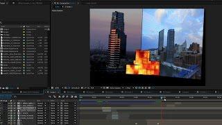 SADECE Adobe After Effects kullanarak bir Projeksiyon bir Harita Oluşturmak için nasıl