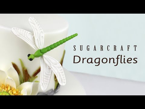 Creative Cake System Dragonflies with Ceri Griffiths